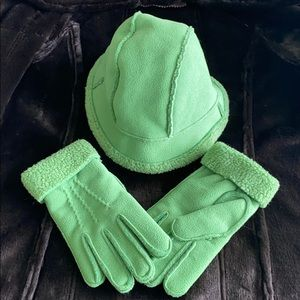 Land's End Hat and Gloves